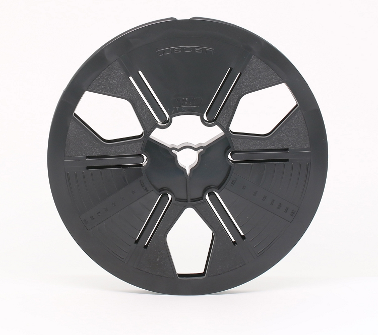 Super 8 400 ft. 7 in. Autoloading Archival Movie Film Reel (Black)