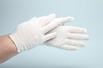 Ladies' Cotton Film Gloves
