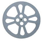 16mm 1600 ft. 13 5/8 in. HEAVY DUTY PLASTIC FILM REEL