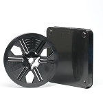 Super 8 200 Ft. Archival Autoloading Movie Film Reel & Can Set (Black)