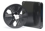 8mm 200 ft.  5 in. Black Archival Autoloading Movie Film Reel with Archival Vented Storage Case