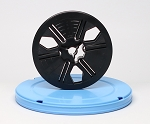 Super 8 Movie Film Reel & Vented Can Set - 200 ft. Reel and Round Can