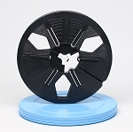 8mm Movie Film Reel & Can Set - 400 ft. Reel and Round Can