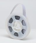 NEW Kodak Super 8 Acetate Leader 50 ft. Reel - White/Clear