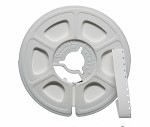 NEW Kodak Super 8 Acetate Leader 50 ft. Reel - White/White