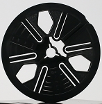 Super 8 200 ft. 5 in. Autoloading Archival Movie Film Reel (Black)