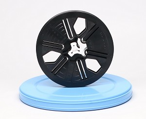 8mm Movie Film Reel & Can Set - 200 ft. Reel and Round Can