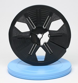 Super 8 Movie Film Reel & Can Set - 400 Ft. Reel and Round Can