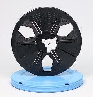 8mm Movie Film Reel & Vented Can Set - 400 ft. Reel and Round Can