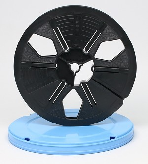 Super 8 Movie Film Reel & Vented Can Set - 400 ft. Reel and Round Can