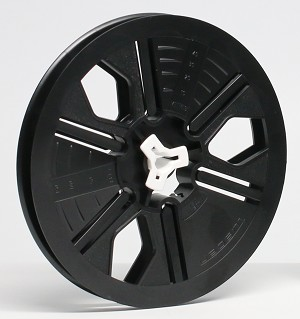 8mm 200 ft. 5 in.  Autoloading Archival Movie Film Reel  (Black)