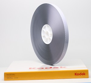 New KODAK 16mm White Acetate Leader 1,000 ft - Double Perforation