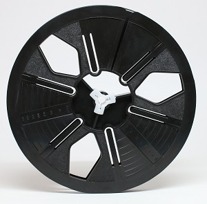 8mm 400 ft. 7 in.  Autoloading Archival Movie Film Reel  (Black)